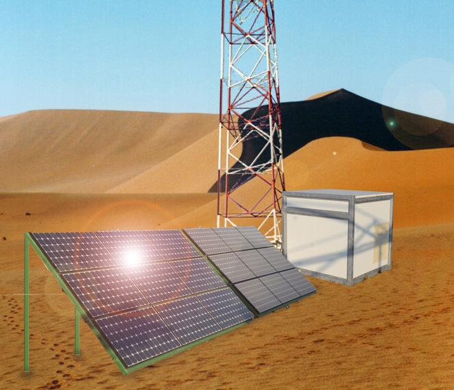containerized solar generator